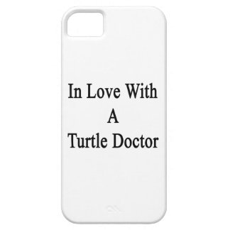 In Love With A Turtle Doctor iPhone 5 Covers