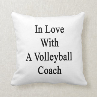 In Love With A Volleyball Coach Pillow