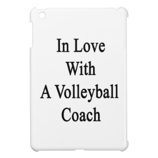 In Love With A Volleyball Coach iPad Mini Covers