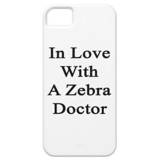 In Love With A Zebra Doctor iPhone 5 Covers