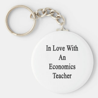 In Love With An Economics Teacher Keychains