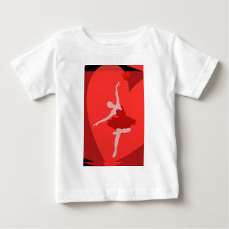 In Love With Ballet Baby T-Shirt