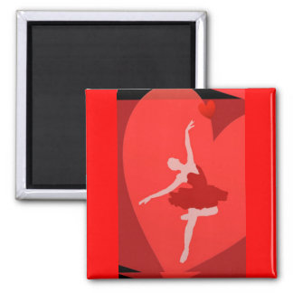 In Love With Ballet Magnet