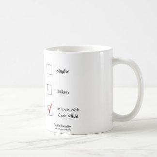 In Love with Cam Wilde Basic White Mug