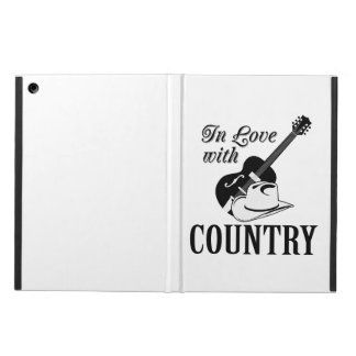 In love with country iPad air covers
