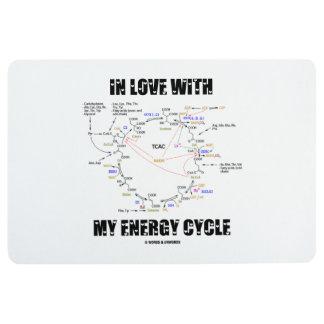 In Love With My Energy Cycle Krebs Cycle Humor Floor Mat