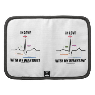 In Love With My Heartbeat Electrocardiogram Planner