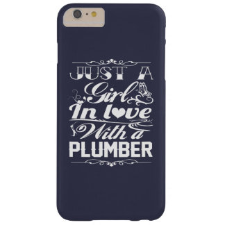 In love with Plumber Barely There iPhone 6 Plus Case
