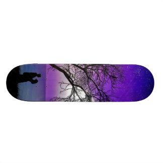 In love with the moonlight - skate boards
