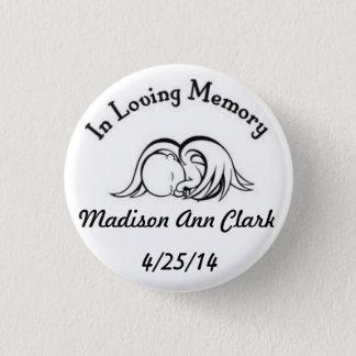 In Loving Memory 3 Cm Round Badge