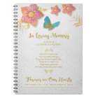 In Loving Memory Butterfly Memorial Guest Book