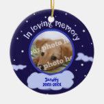 In Loving Memory Custom Photo Pet Memorial