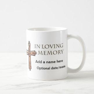 In Loving Memory Customizable Memorial Mug