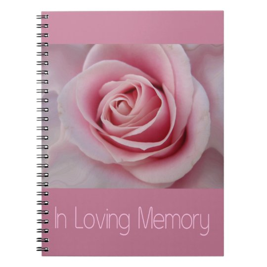 In Loving Memory guestbook Notebooks