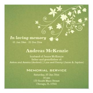 In Loving Memory Personalized Invites