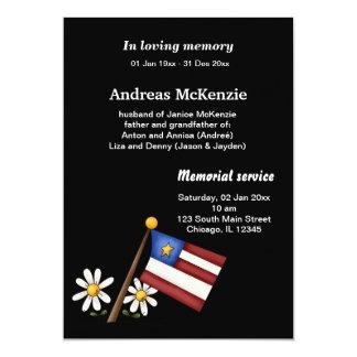 In loving Memory Invite