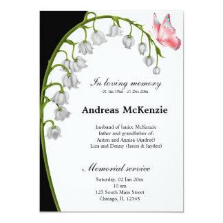 In loving memory custom announcements
