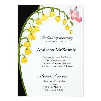 In loving memory invites