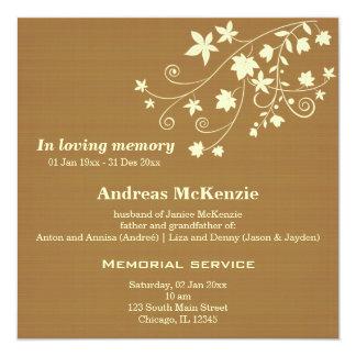 In Loving Memory Custom Invitation