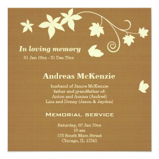 In Loving Memory Announcement
