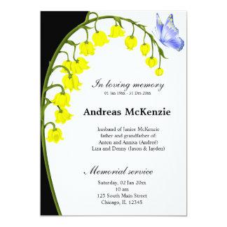 In loving memory cards
