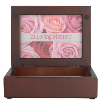 In loving memory keepsake box