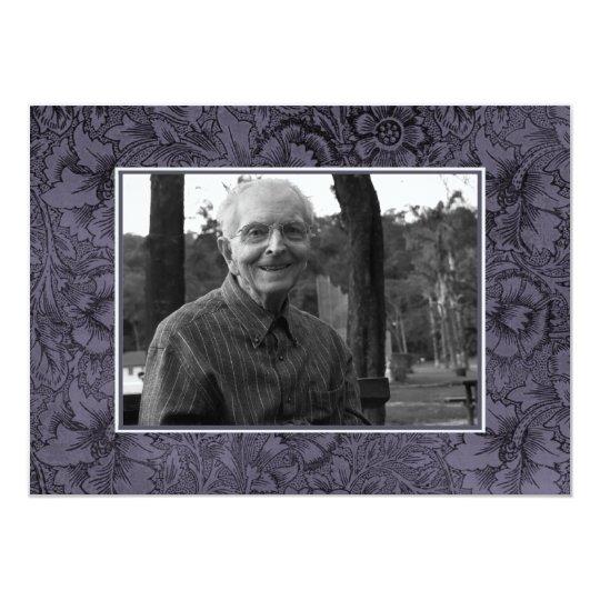 In Loving Memory Memoriam Death Notice Photo Card