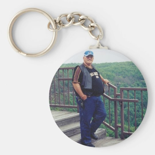 In Loving Memory Of Dad Key Ring