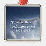 In Loving Memory Personalised Christmas Ornament