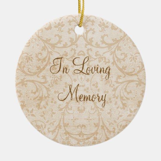 In Loving Memory Personalised Photo Memorial Christmas Ornament