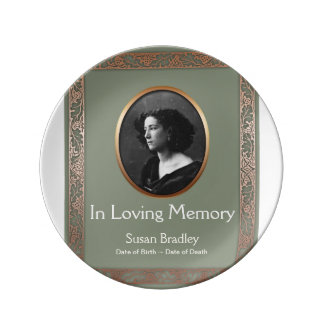 In Loving Memory Personalized Memorial Plate 1 Porcelain Plates