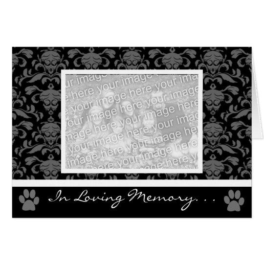 """""""In Loving Memory"""" Pet Cards"""