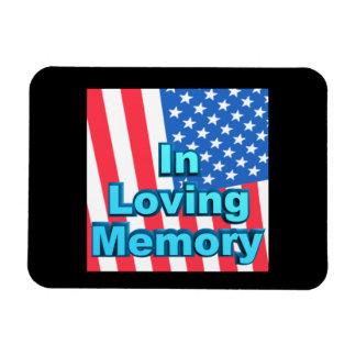 In Loving Memory Rectangle Magnet