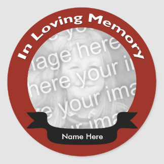 In Loving Memory Stickers