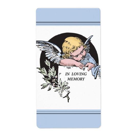 In Loving Memory Vintage Angel, Remembrance on Blu