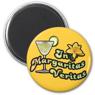 In Margaritas Veritas 6 Cm Round Magnet