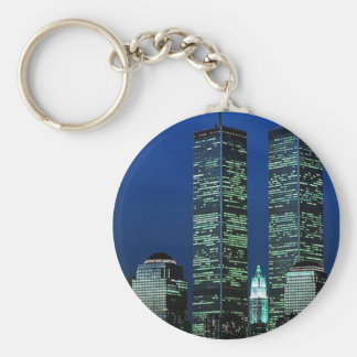 In Memoriam In memory of Twin Towers WTC NYC Key Ring