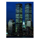 In Memoriam In memory of Twin Towers WTC NYC Postcard