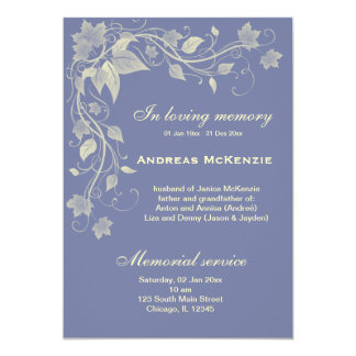 In Memoriam Personalized Announcements