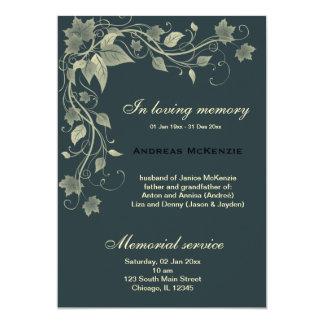 In Memoriam Custom Invites