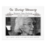 In Memoriam Loving Memory Funeral Photo Hand Out