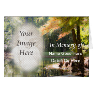 In Memoriam Notification Card