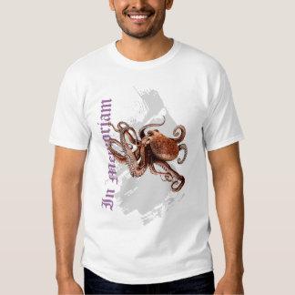 In Memoriam Paul The Octopus Tshirt