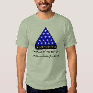 In Memoriam Tshirts