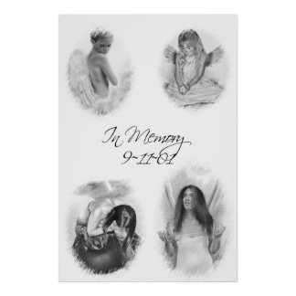 In Memory 911 Angels  Poster