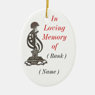 In Memory Christmas Ornament