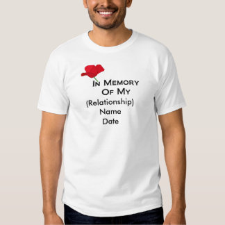 In Memory (Customizable) Remembrance Day T-Shirts