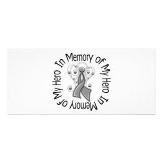 In Memory Hero Parkinson's Disease Angel Wings Rack Card