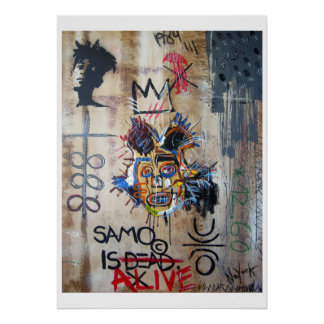 In MEMORY… neo Expressionism Poster