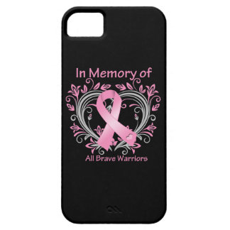 In Memory of All Brave Warriors Breast Cancer iPhone 5 Cases